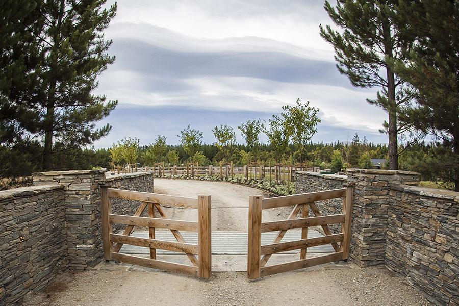Gates open