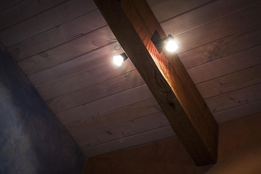 Internal ceiling lighting